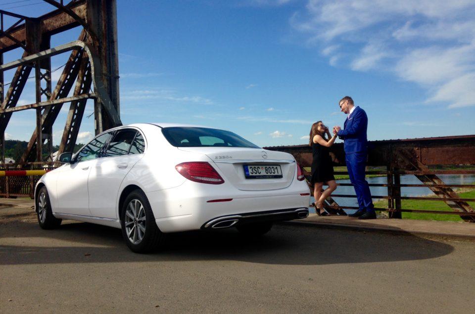 Elegance, luxus a komfort. To je náš Mercedes-Benz třídy E