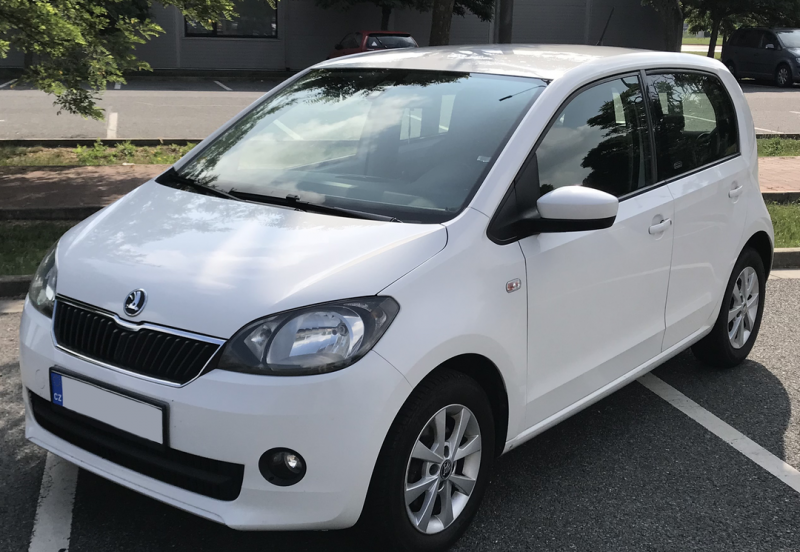 Škoda CitiGo front clean