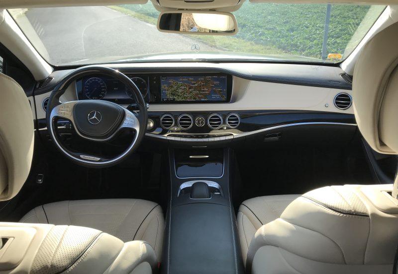 Mercedes S class interior 1