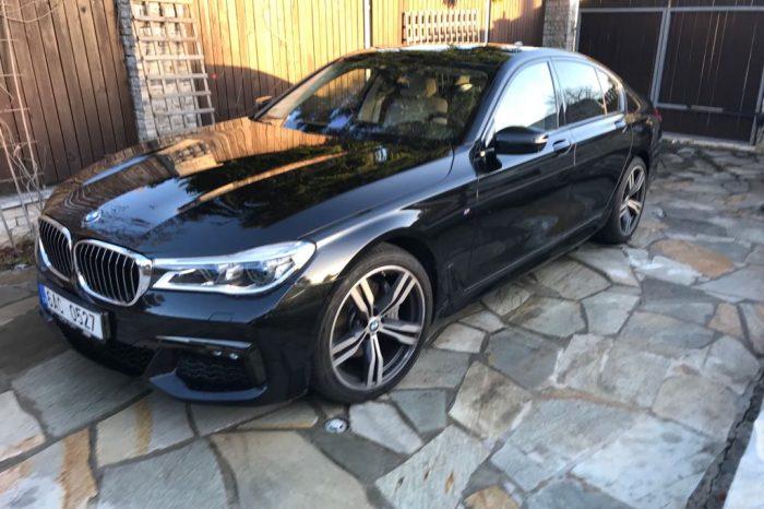 BMW 740d (Pouze roční pronájem)