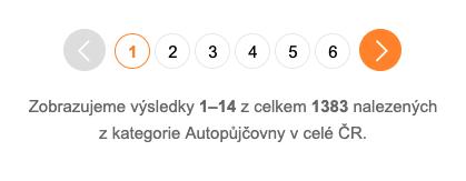 počet autopůjčoven v ČR 2019